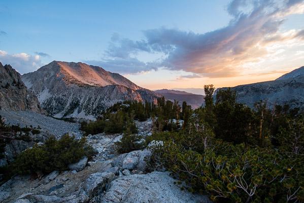 Palisades Range, Eastern Sierra Nevada