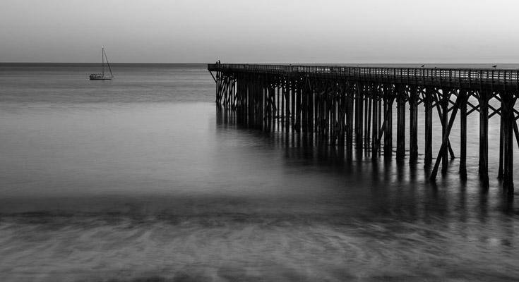 San Simeon State Beach, California