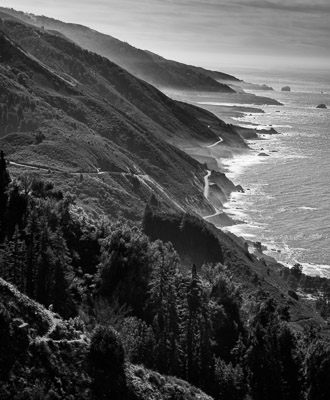 From the Kirk Creek Trail, Southern Big Sur Coast, California