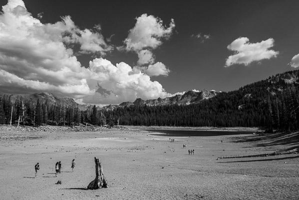 The Drought at Mammoth Lakes, California