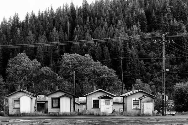 Four houses in Truckee, California