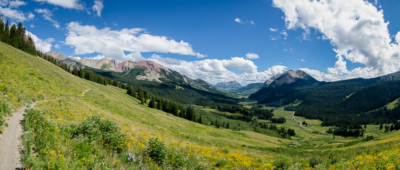 East River Valley, Crested Butte, Colorado