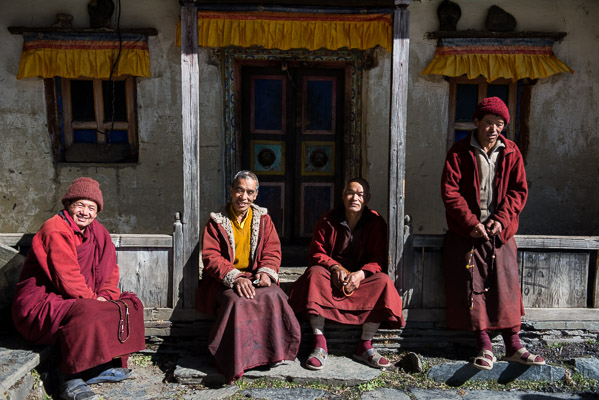 The monks will leave the high monastery during the Winter months, Tsum Valley