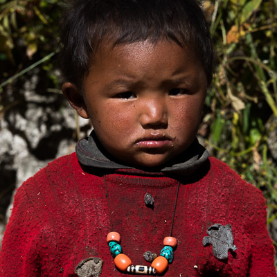 Many Nepalese children are from refugee families.