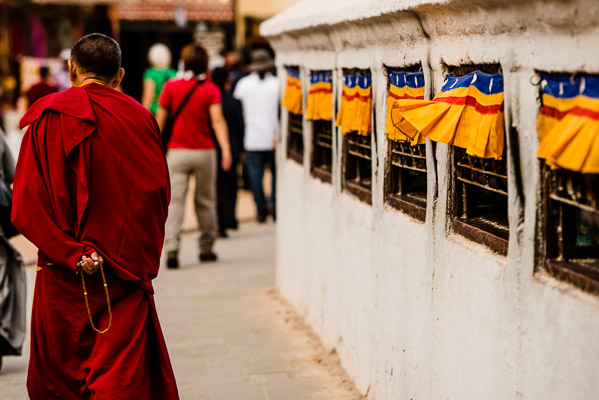 The Tibetan Buddhist center for worship, Kathmandu