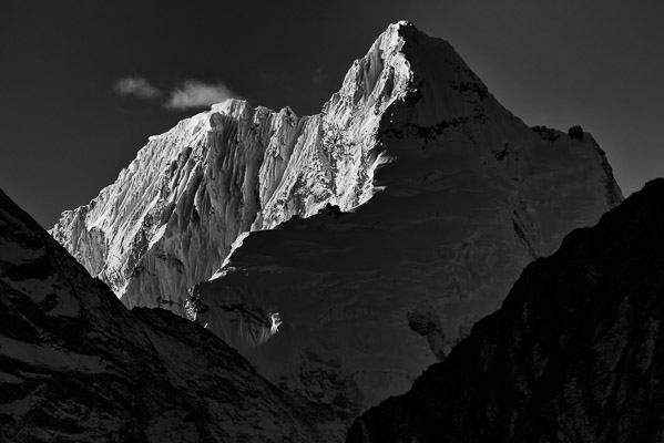 The Ganesh Range rises above Tsum Valley